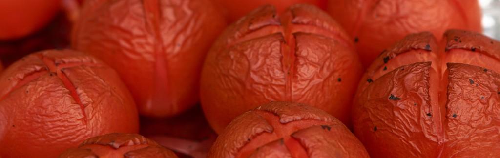 Røgede tomater fra grillen