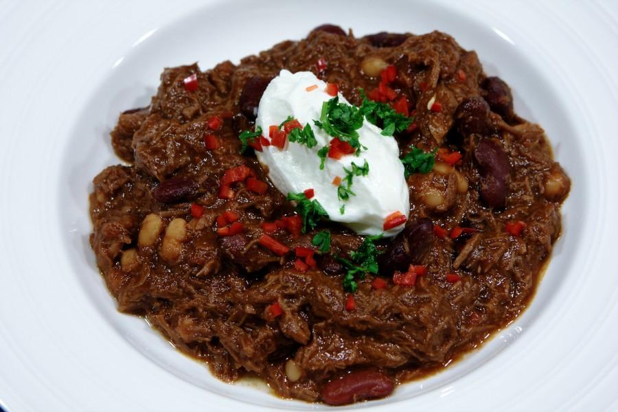 Chili con carne - det endelige resultat