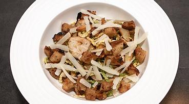 Nyfortolkning af Caesar Salad