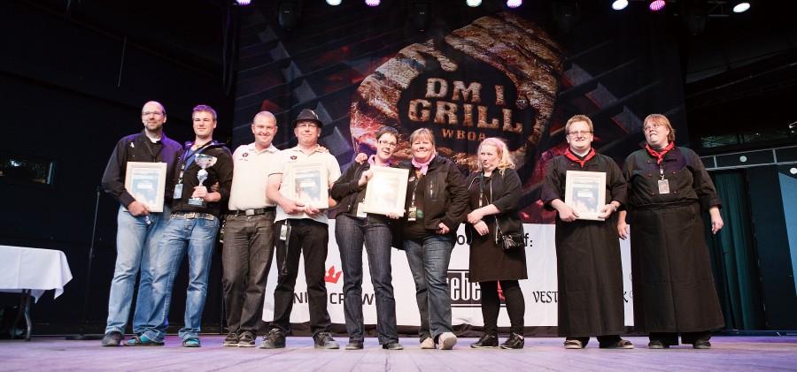 Glade vindere ved DM i grill 2010