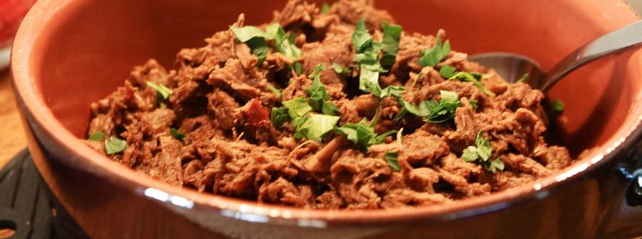 Carnitas de Carne - supermørt langtidssimret oksekød