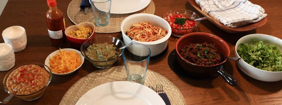 en mexicansk middag