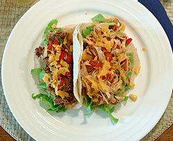 Mexicansk middag - rigtig Taco-dinner