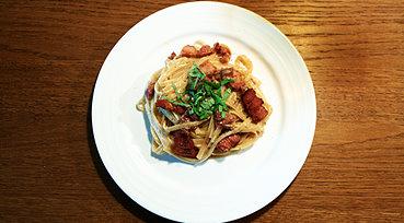 Spaghetti Carbonara - Klassisk Italiensk