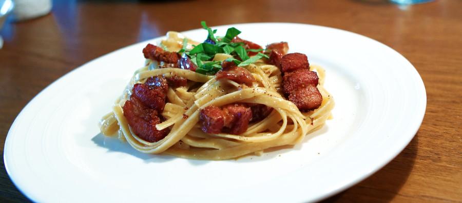 En skøn og enkelt ret - pasta carbonara