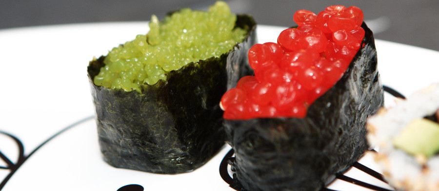 "Guncan - ""kanonbåde"" sushi"