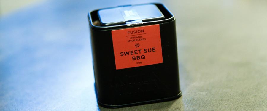 Sweet Sue BBQ krydderi fra Mill & Mortar