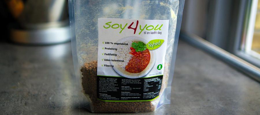 """Soy4You - et dansk produkt der skal """"redde verden"""""""