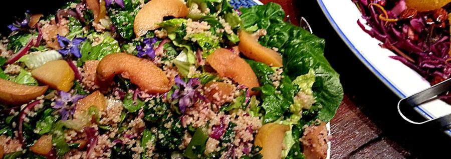 En lækker couscous salat med kvæde
