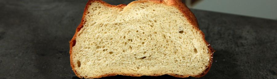 korttidshævet brød på økologisk gær