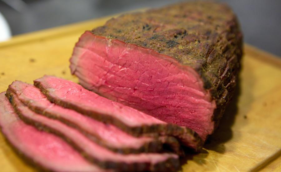 Perfekt grillet roastbeef er langtidsstegt