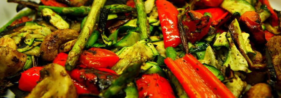Grillede grønsager - fantastisk let og genialt god smag.