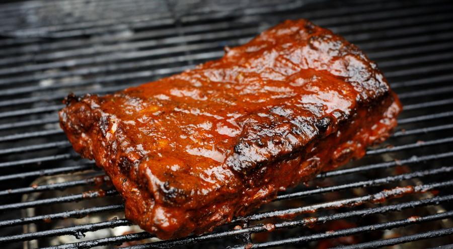 Spareribs På Gasgrill Tid : Country style ribs de kødfyldte spareribs grill kokkerier