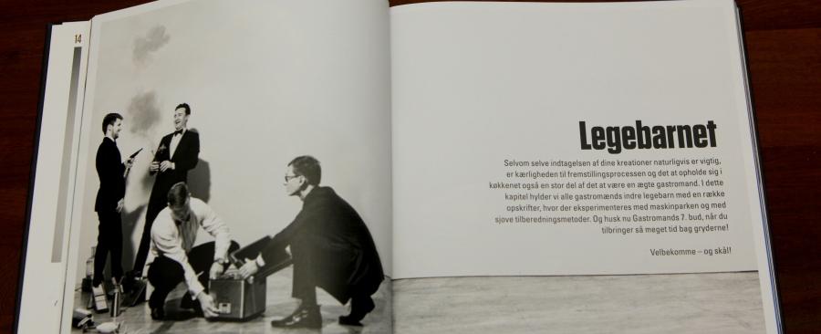 intro sider med lækre billeder til hvert kapitel