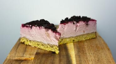 LCHF Hindbær cheesecake