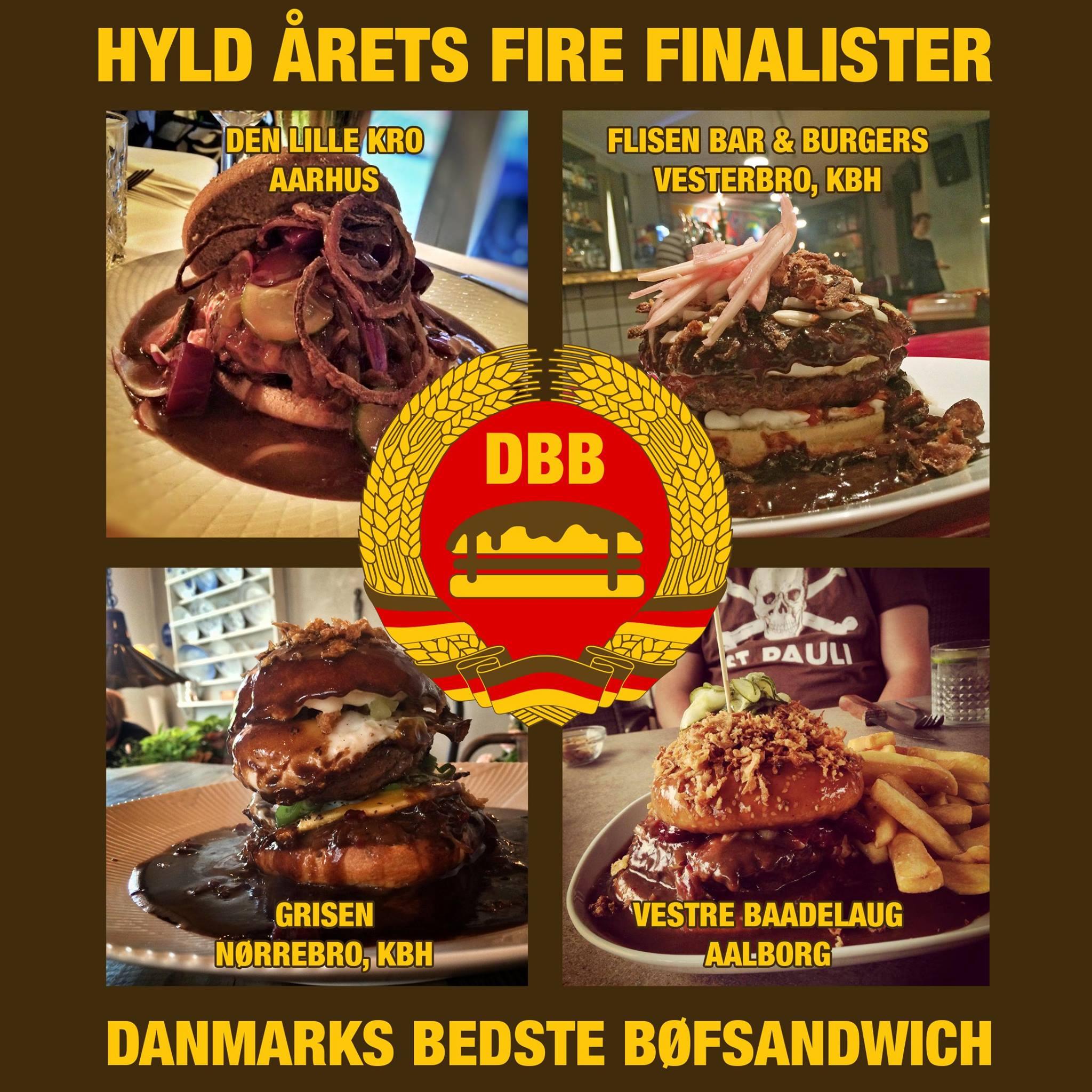 Danmarks Bedste bøfsandwich 2015