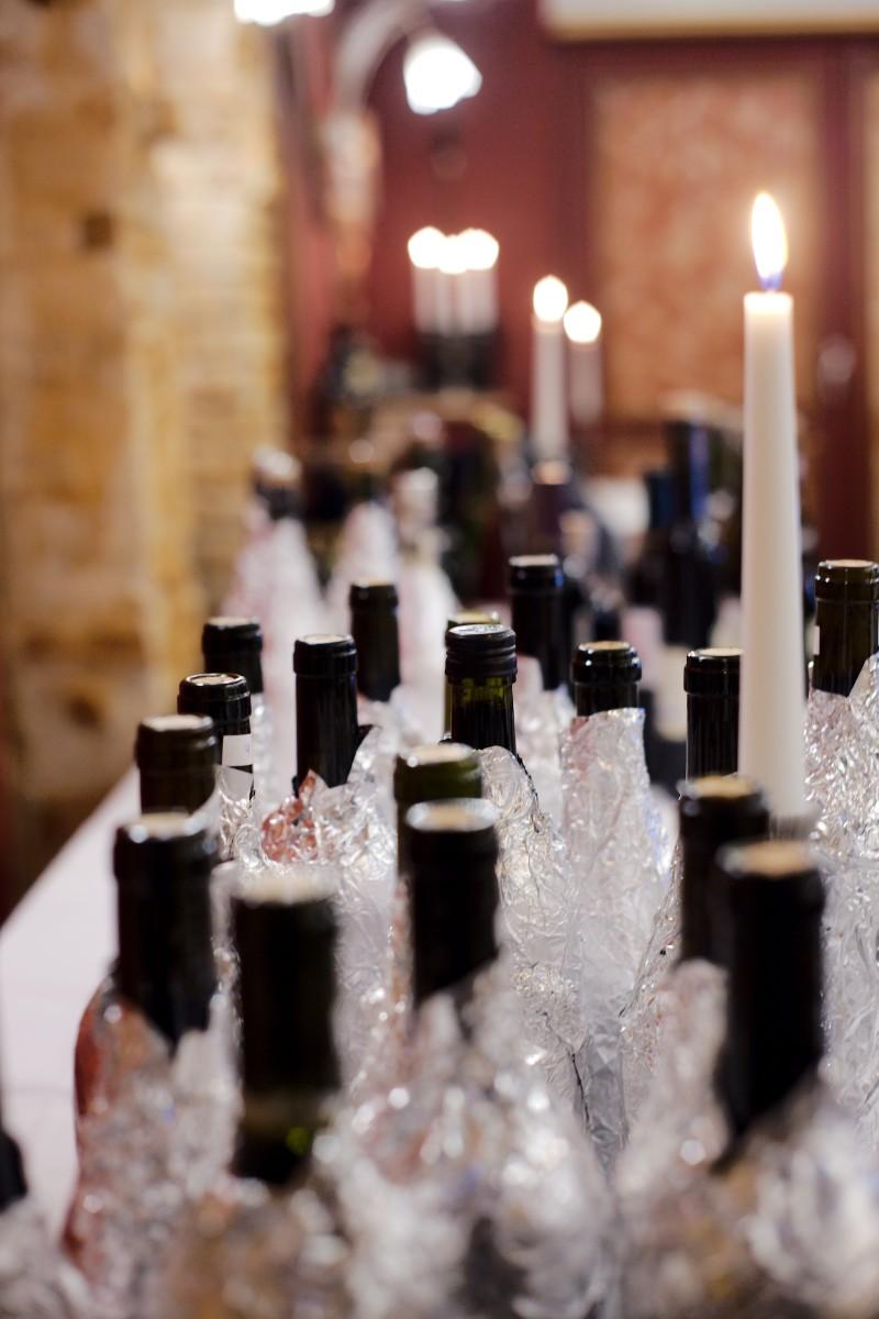De anonymiserede flasker