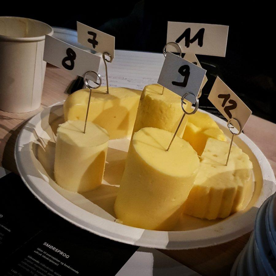Smør i mange former og farver