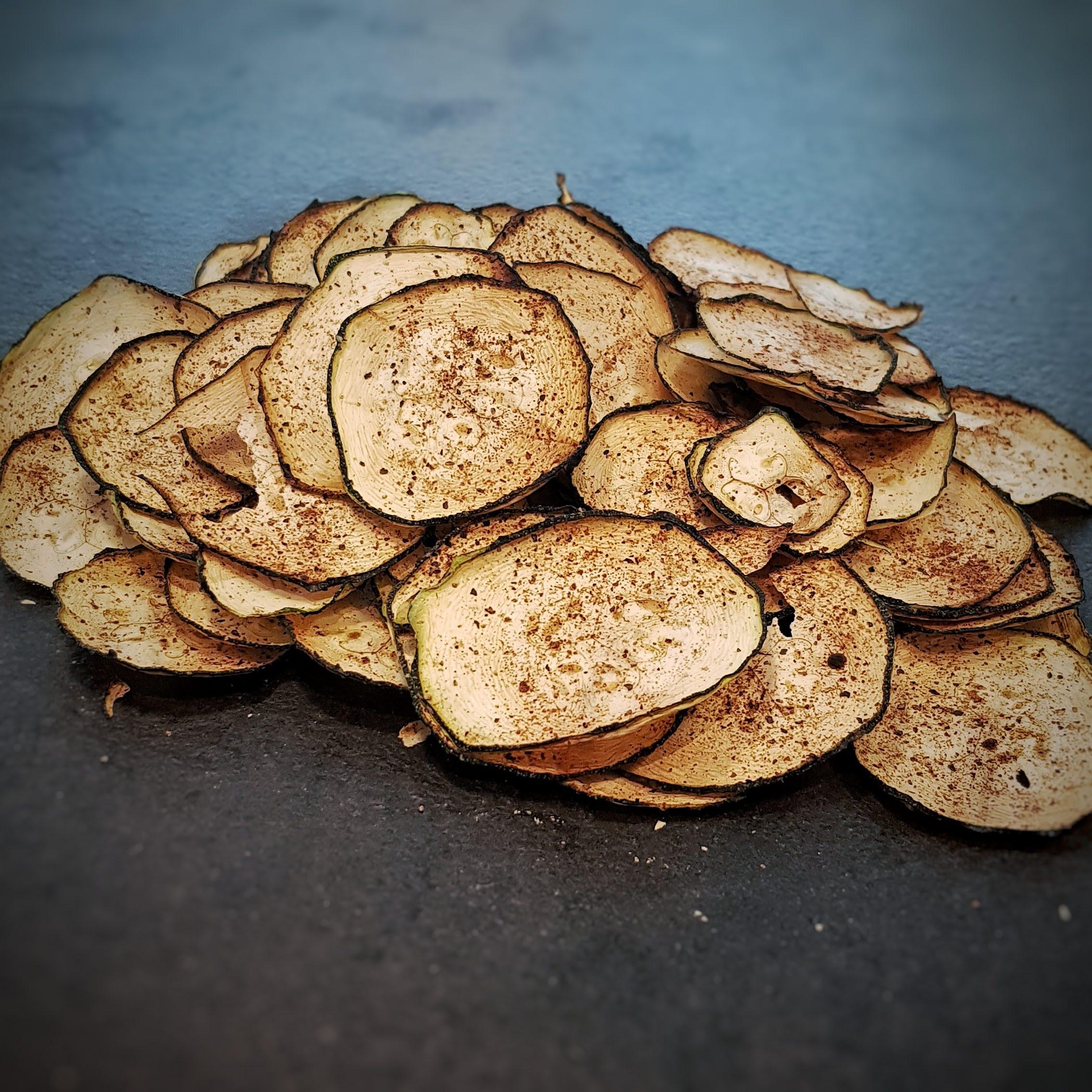 squash chips - dejligt sprøde